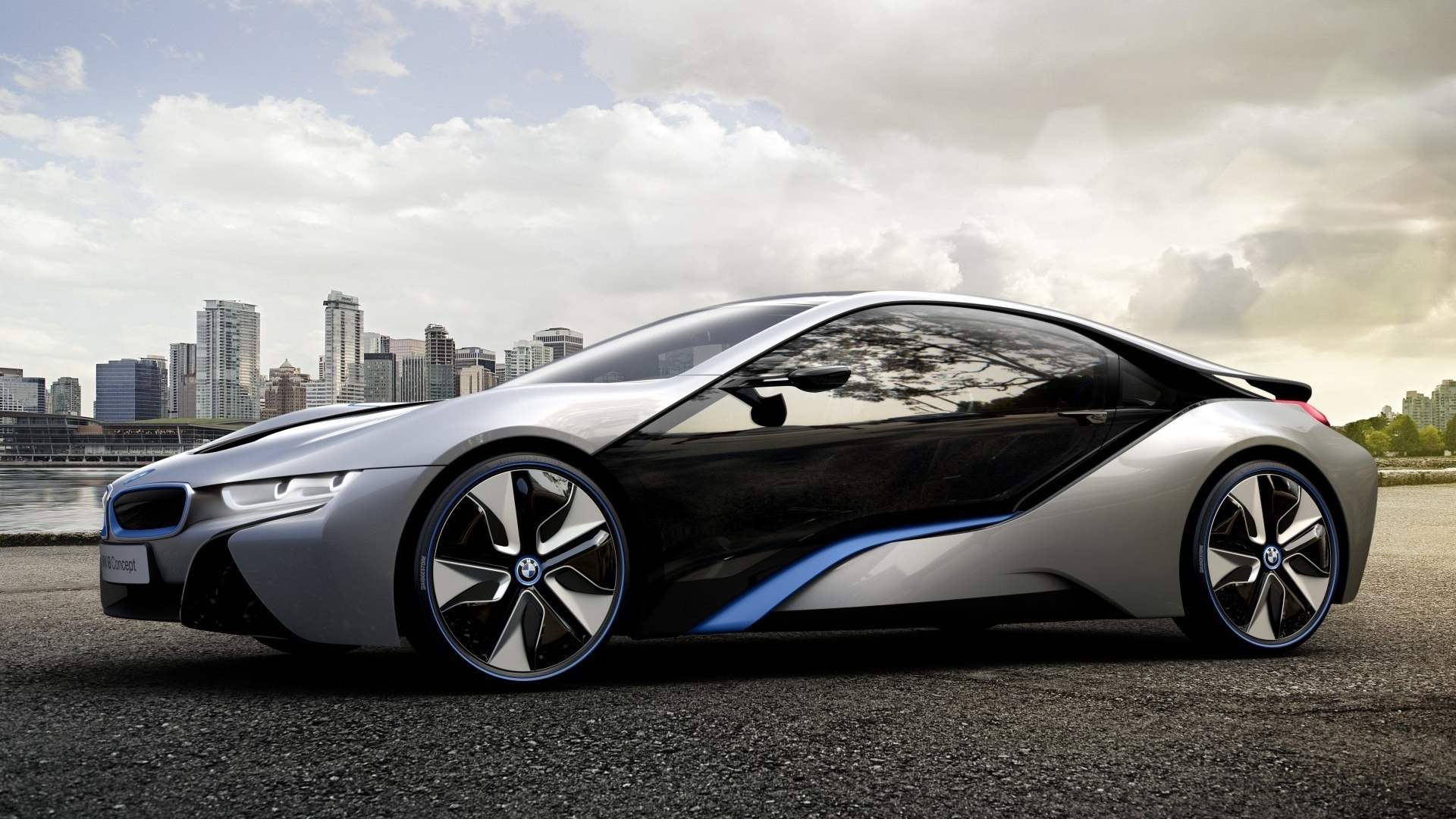 Wallpaper Bmw I8 Concept Car Dark Cars Images Full Hd Download 1920x1080 Download Hd Wallpaper Wallpapertip