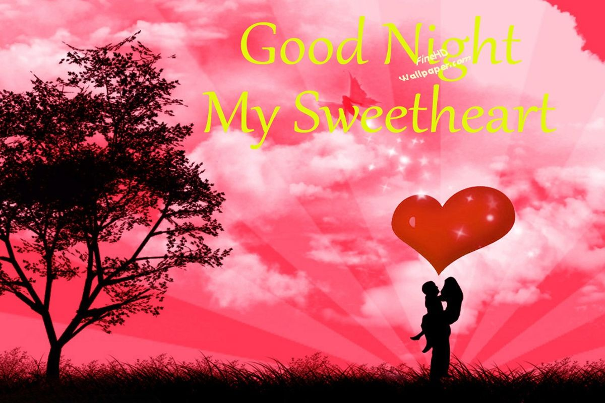 Good Night In Love Hd 1200x800 Download Hd Wallpaper Wallpapertip