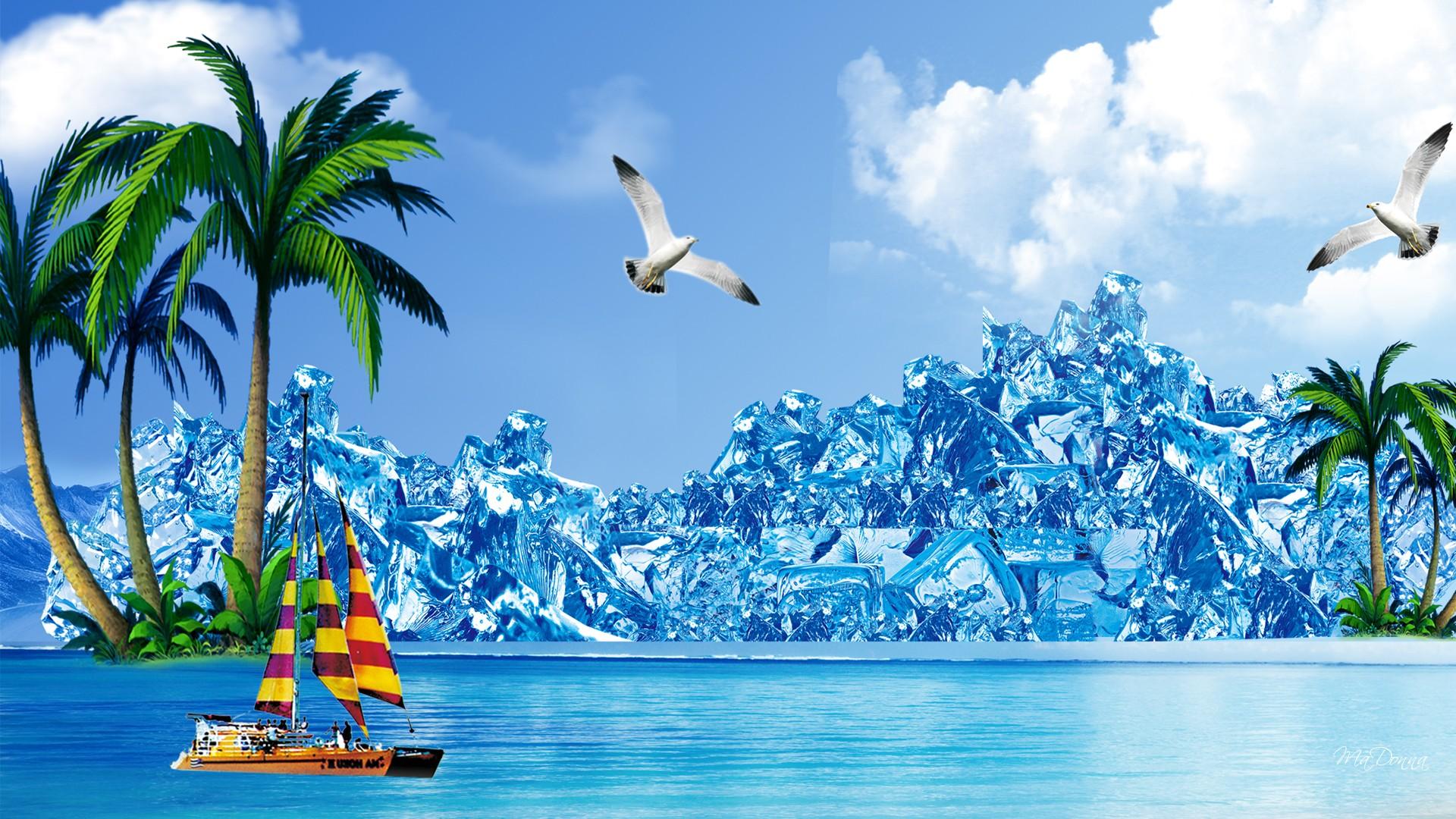 Summer Nature Desktop Backgrounds 1920x1080 Download Hd Wallpaper Wallpapertip