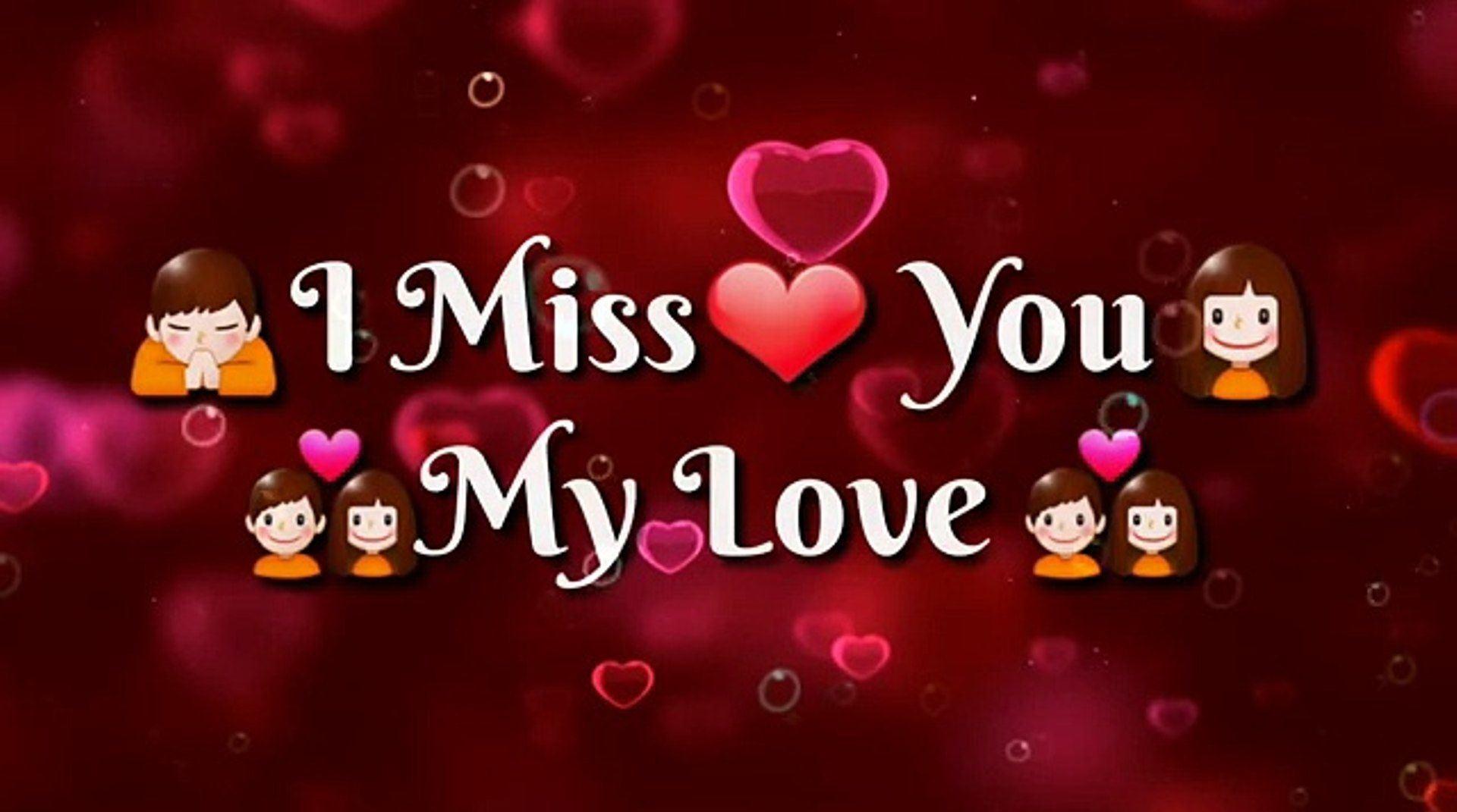 Miss You Love Pics Miss You My Love Raj 1920x1071 Download Hd Wallpaper Wallpapertip