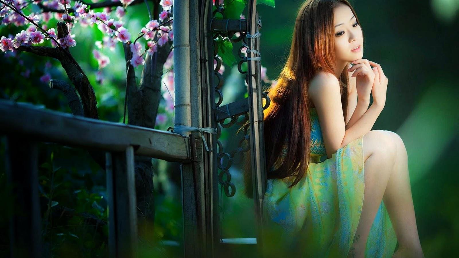 Cute Japanese Girls Wallpapers - 1600x900 - Download HD Wallpaper - WallpaperTip