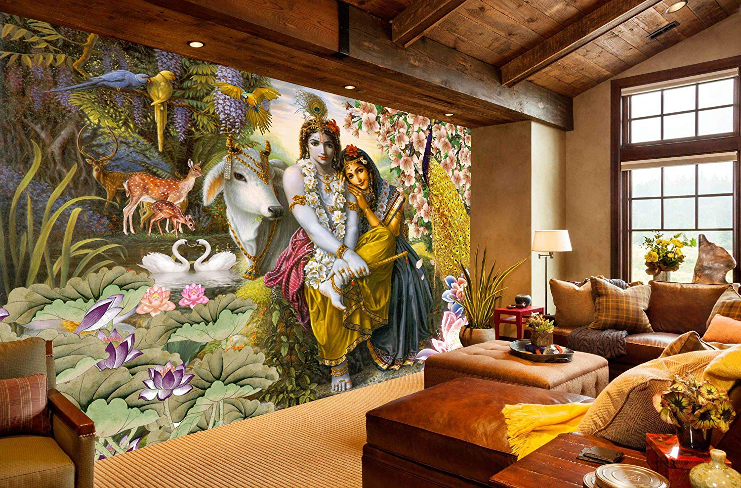 0 5528 radha krishna wallpaper for home wall