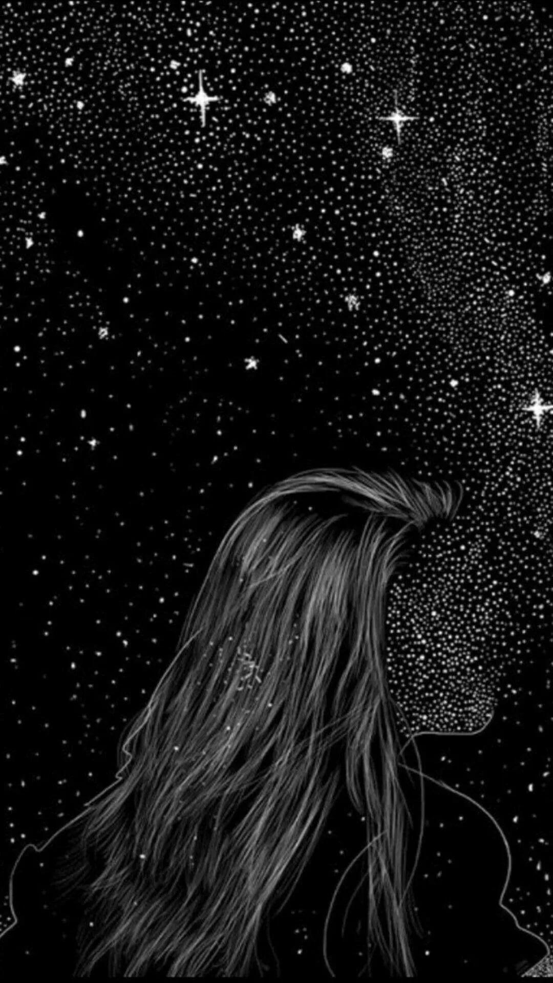 ästhetische schwarze Tapete für Mädchen   Tumblr Wallpaper ...