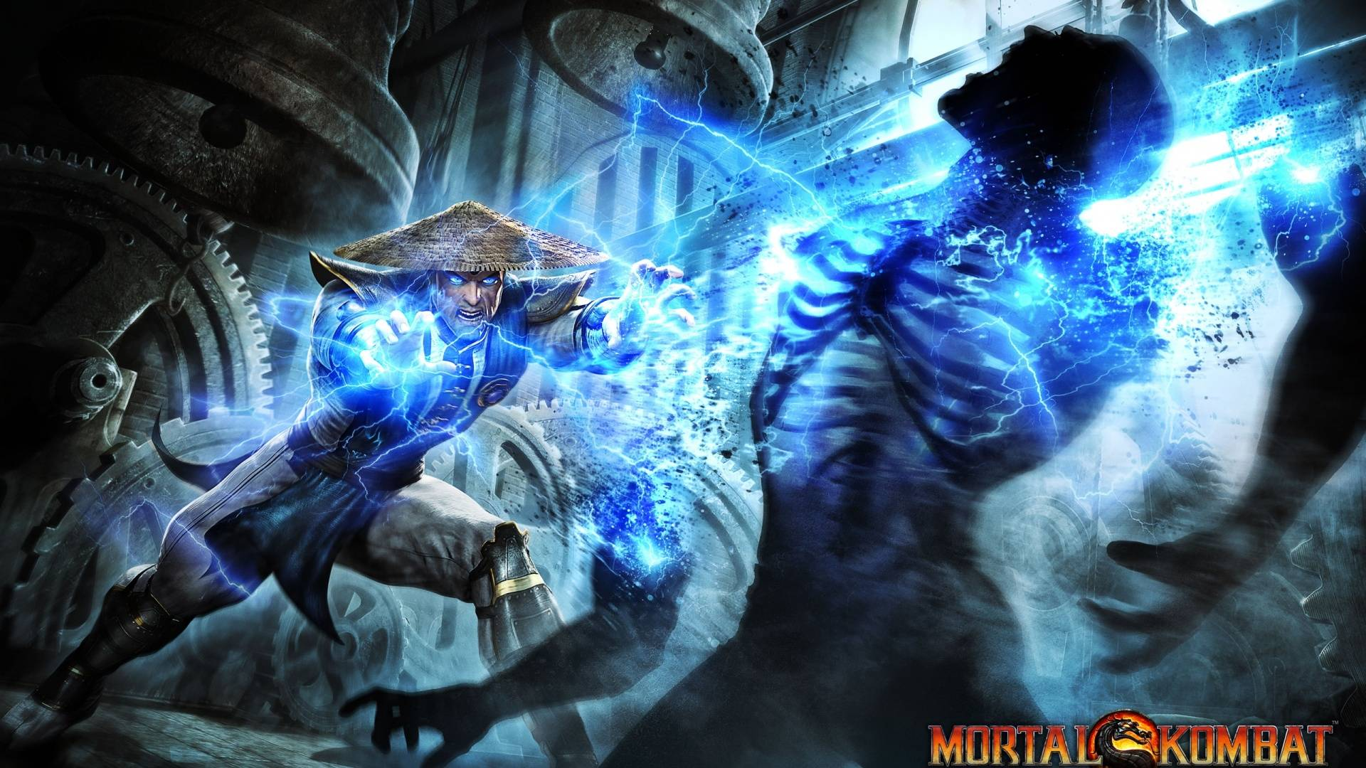 mortal kombat 11 wallpaper raiden