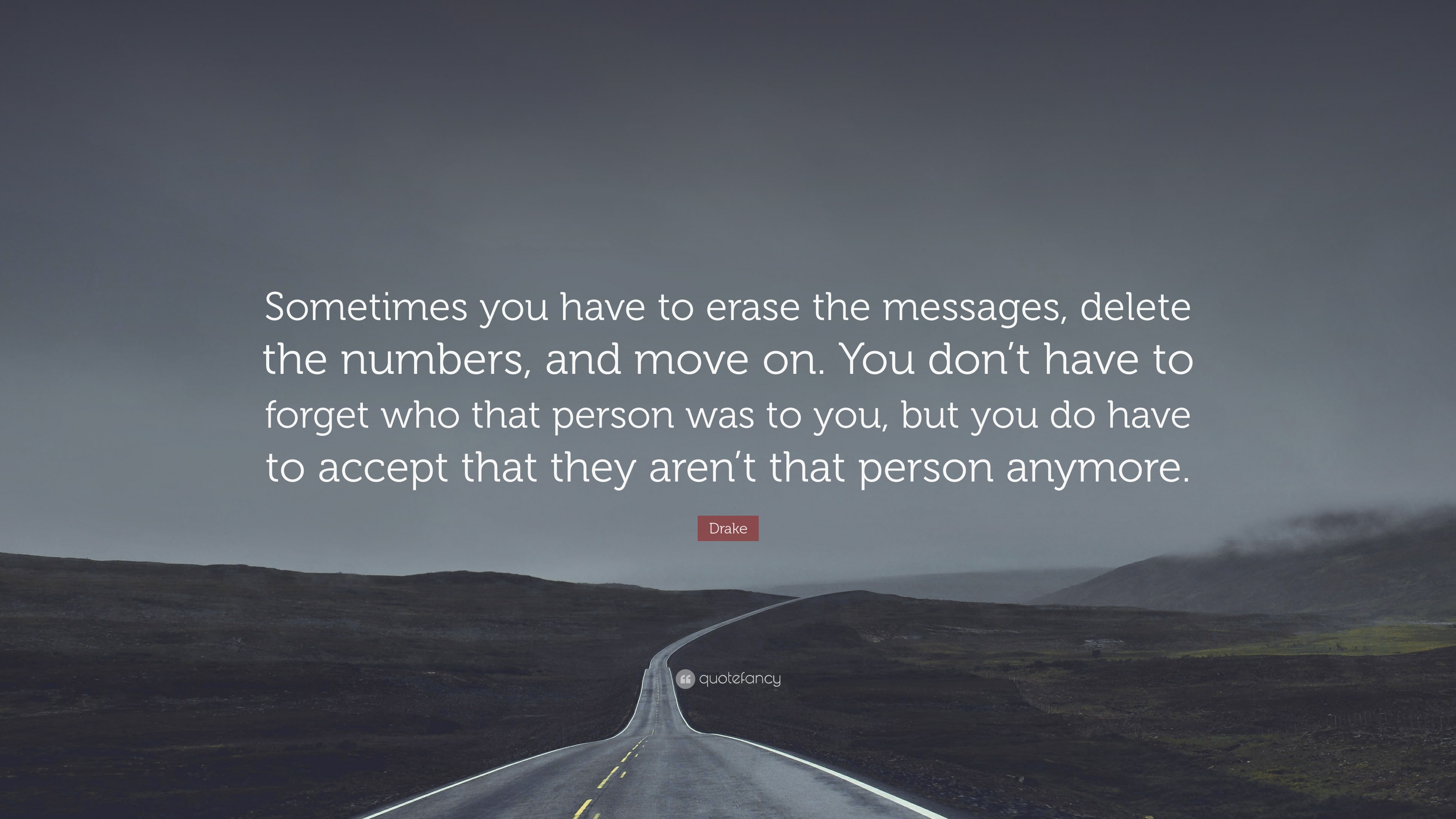 Sometimes You Have To Erase The Messages Delete The Like Water Quote 3840x2160 Download Hd Wallpaper Wallpapertip
