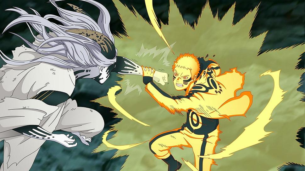 Naruto Y Sasuke Vs Momoshiki 970x546 Download Hd Wallpaper Wallpapertip