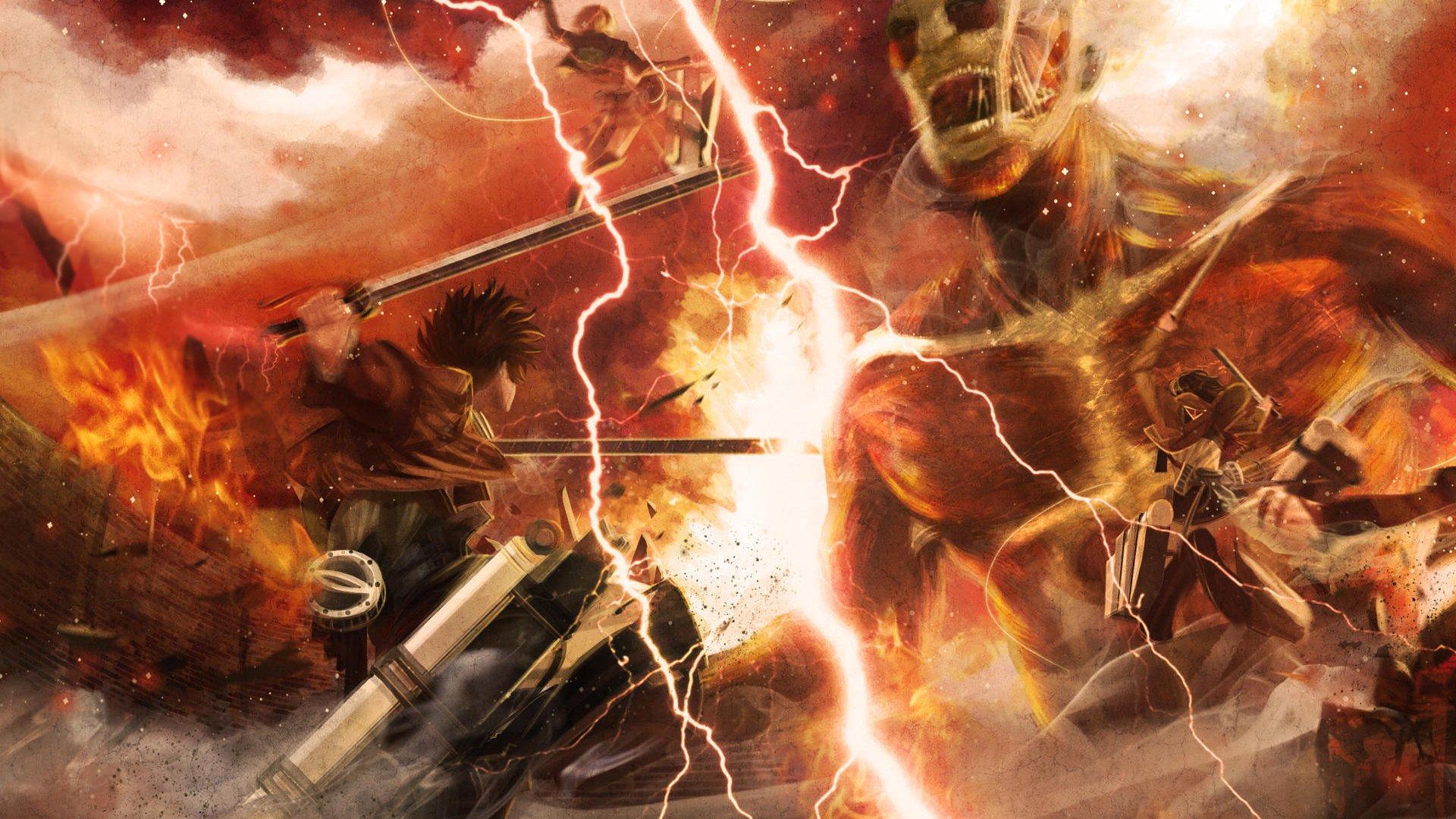 Attack On Titan Hd Wallpaper Hd Wallpaper Backgrounds Attack On Titan Hd Background 1920x1080 Download Hd Wallpaper Wallpapertip
