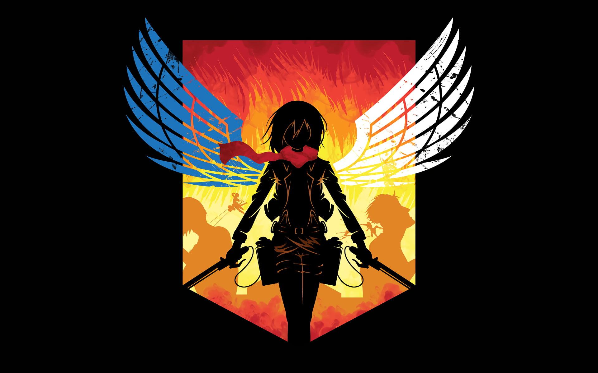 Hd Wallpaper Attack On Titan Logo - 1920x1200 - Download ...
