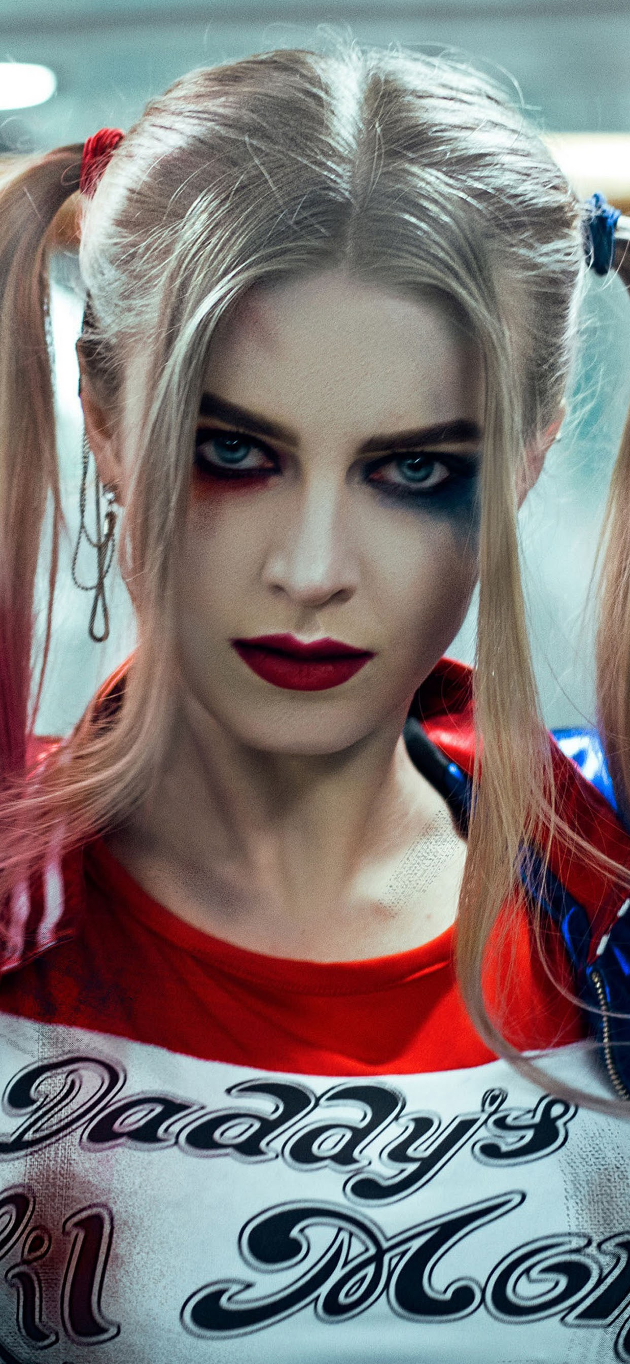 Harley Quinn Cosplay 4k Harley Quinn Wallpaper Iphone 1242x2688 Download Hd Wallpaper Wallpapertip