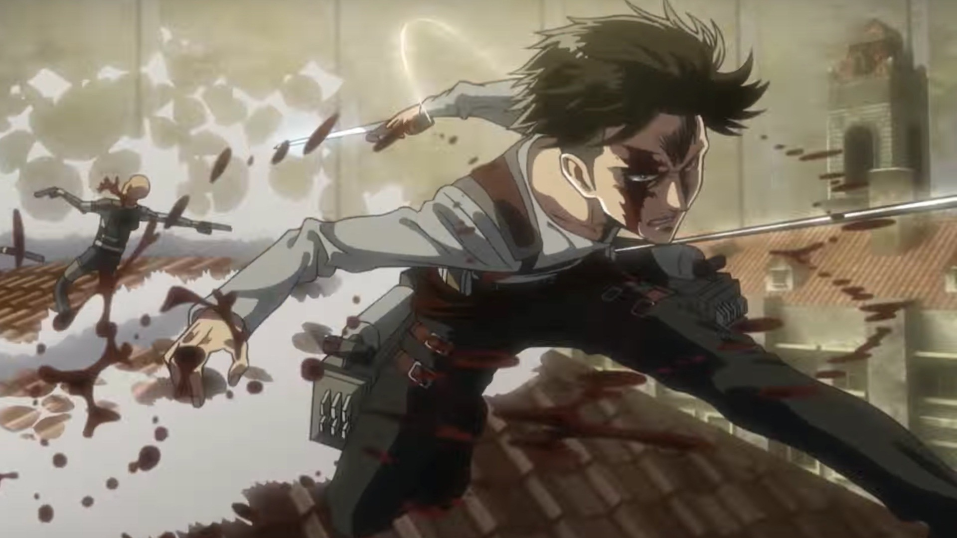 Attack On Titan Best Hd Wallpaper Attack On Titan Season 3 Pain 1920x1080 Download Hd Wallpaper Wallpapertip