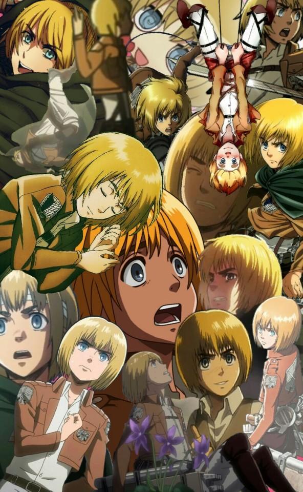 Armin Wallpaper Attack On Titan 592x960 Download Hd Wallpaper Wallpapertip