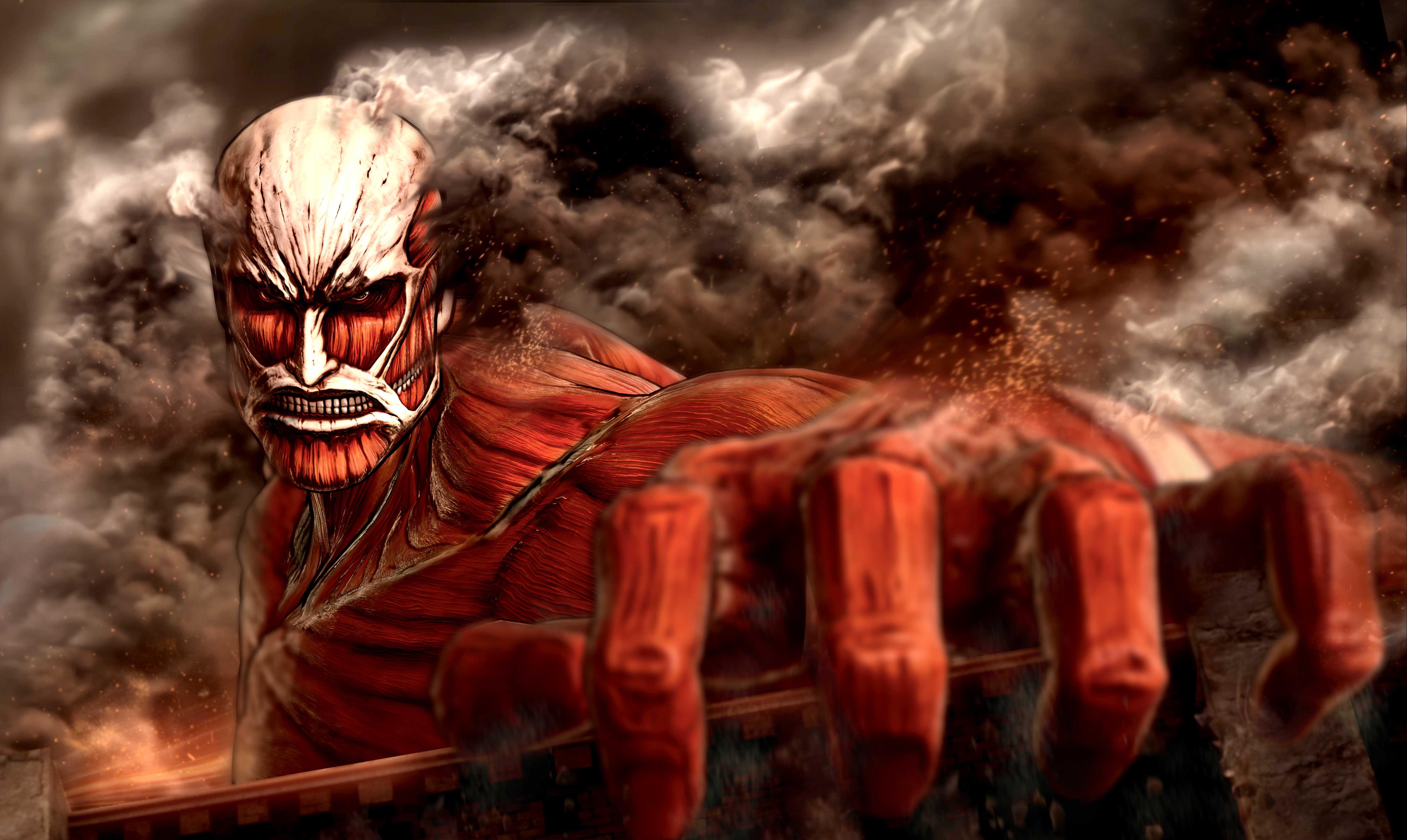 Attack On Titan 2560x1440 Download Hd Wallpaper Wallpapertip
