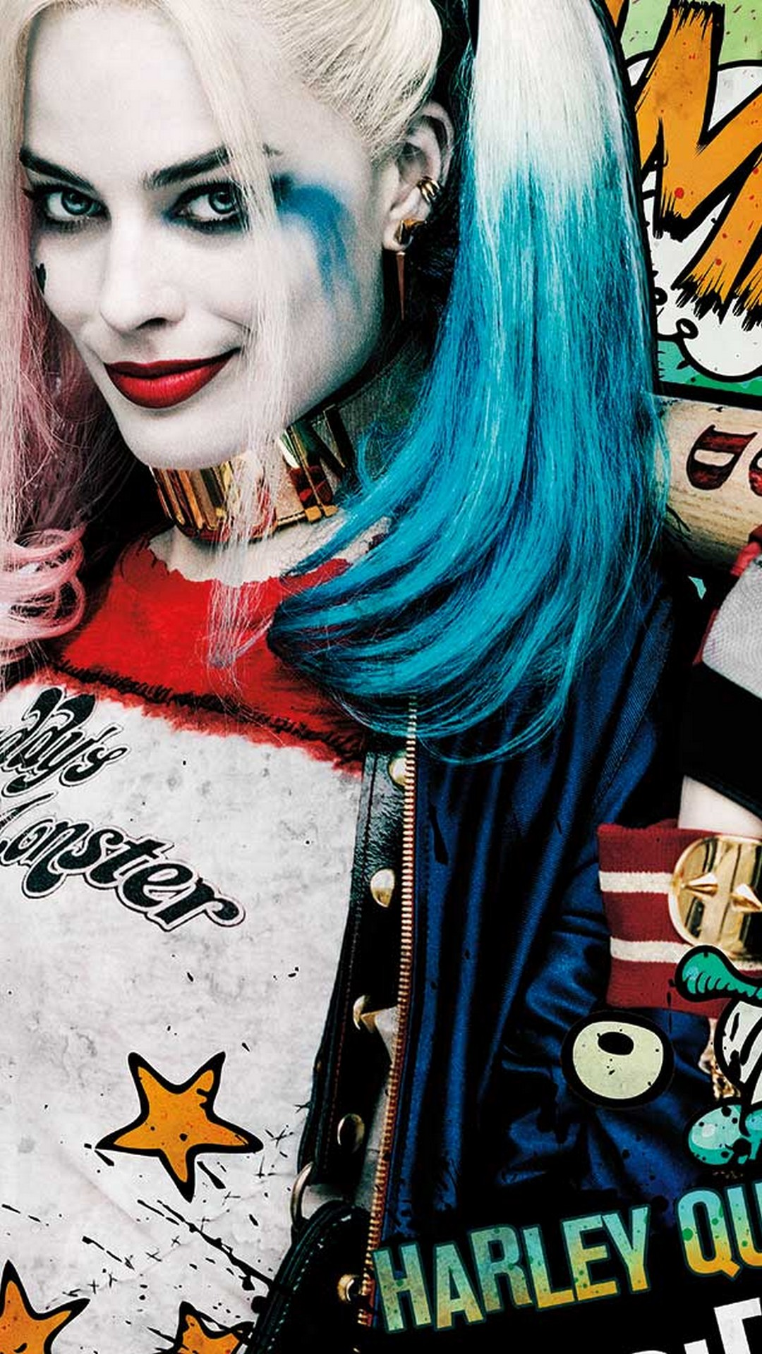 Iphone Wallpaper Hd Harley Quinn Movie With Image Resolution Android Harley Quinn Wallpaper Hd 1080x1920 Download Hd Wallpaper Wallpapertip