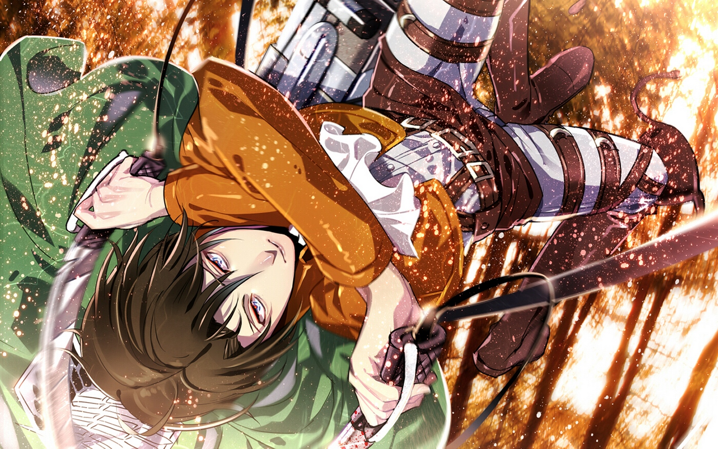 Wallpaper Attack On Titan Shingeki No Kyojin Guy 1440x900 Download Hd Wallpaper Wallpapertip