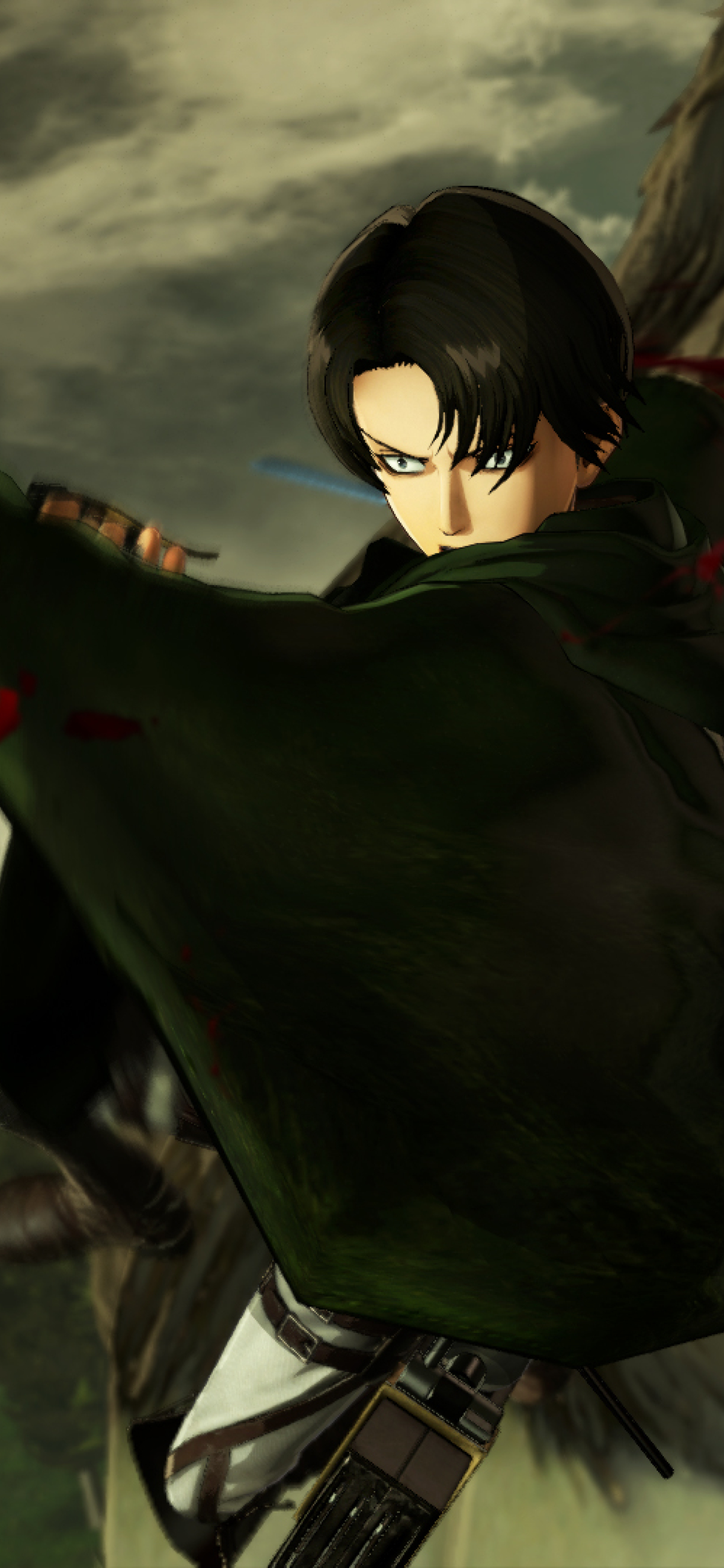 Attack On Titan Levi 1242x2688 Download Hd Wallpaper Wallpapertip