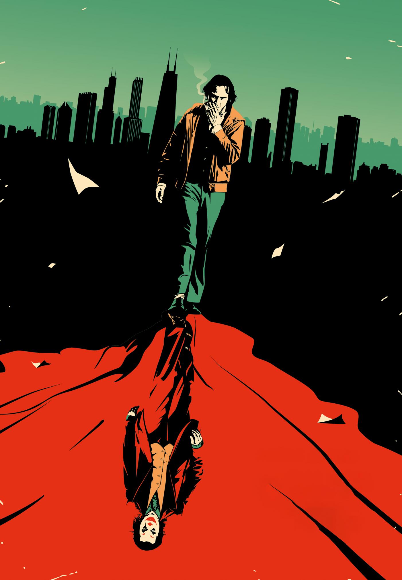 Iphone 11 Pro Green Wallpaper Joker Joker 2019 Art Poster 711x1024 Download Hd Wallpaper Wallpapertip