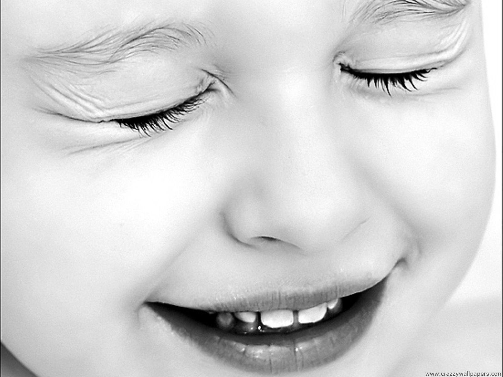 Cute Baby Black And White Black And White Wallpaper Baby 1600x1200 Download Hd Wallpaper Wallpapertip