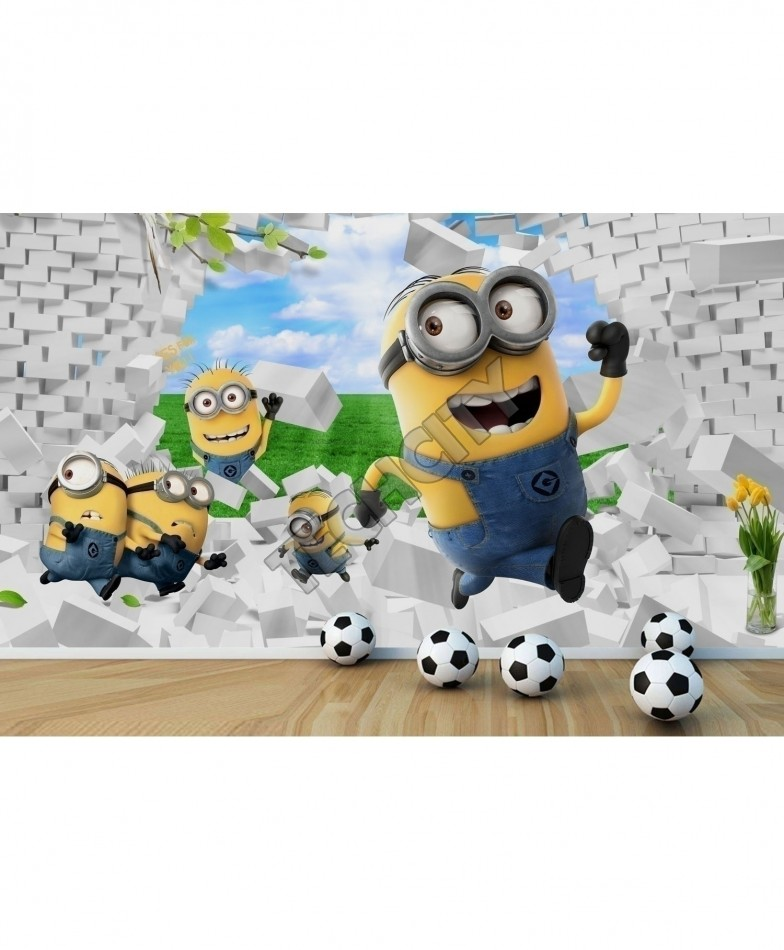 1 13774 3d yellow minions wallpaper bns 392 minions 3d
