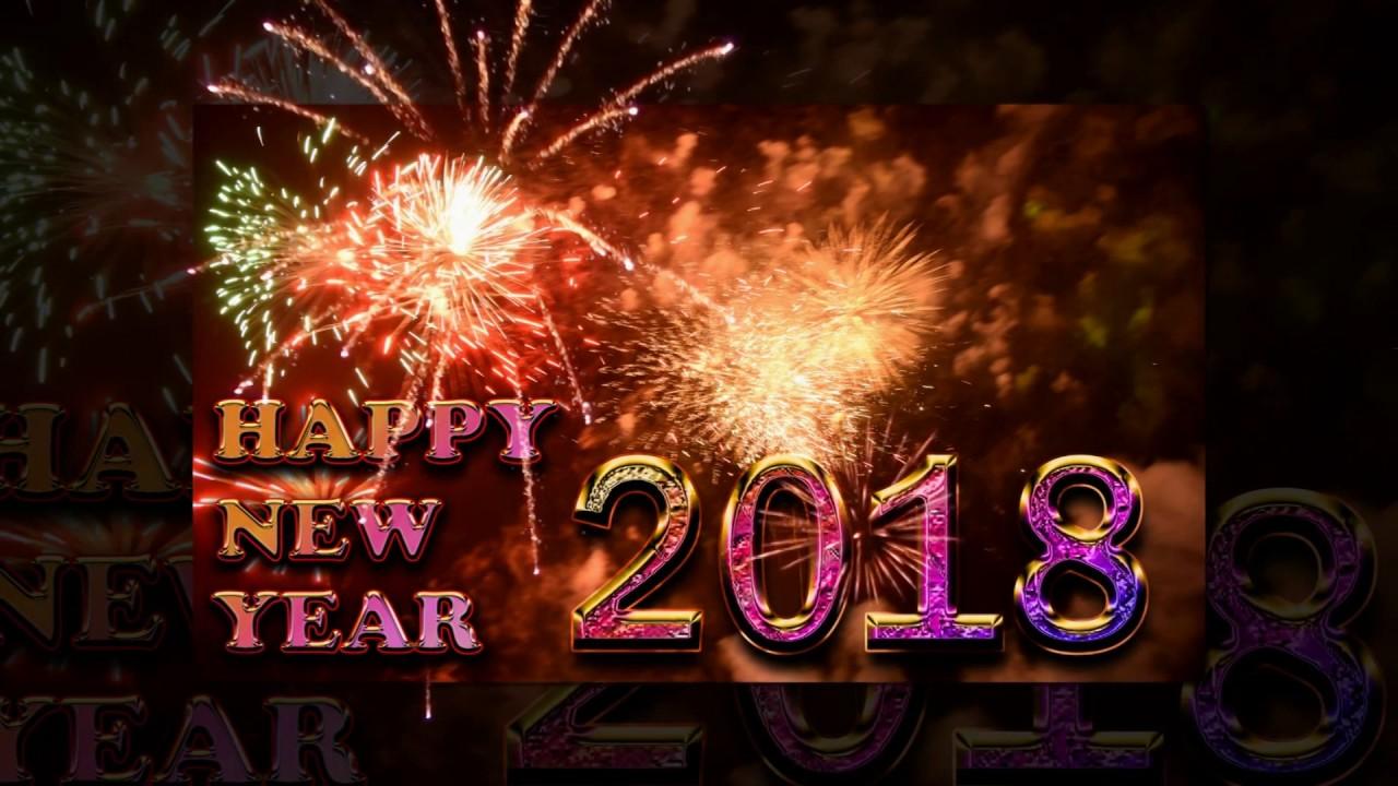 Happy New Year 2018 Message 1280x720 Download Hd Wallpaper Wallpapertip