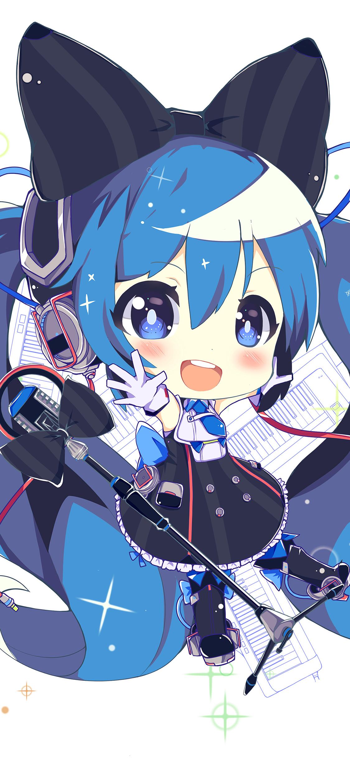 Cute Small Anime Girls 1125x2436 Download Hd Wallpaper