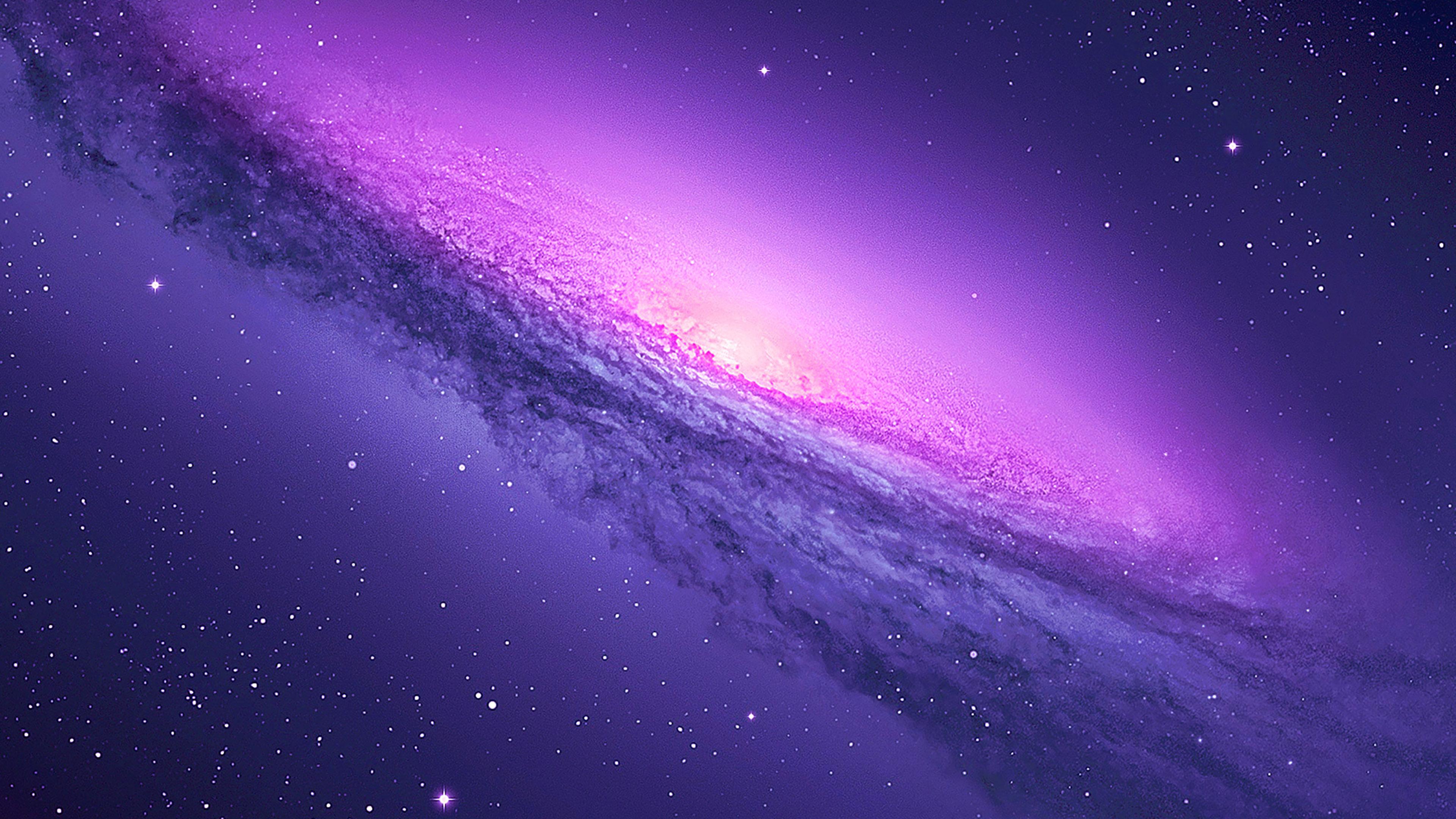 Purple Galaxy Wallpaper 4k - 3840x2160 - Download HD ...