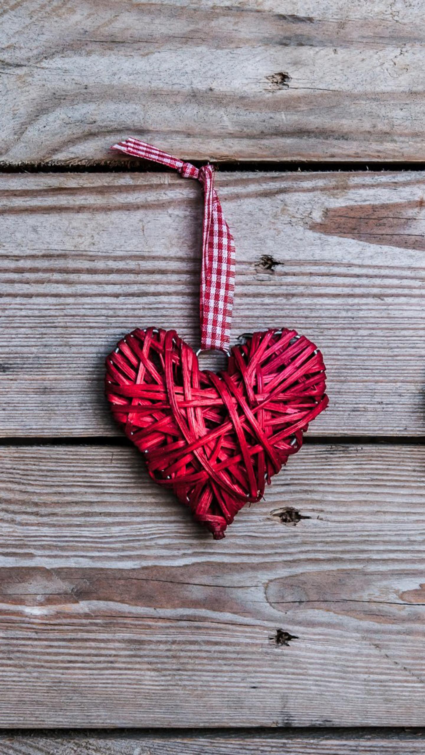 Handmade Romantic Valentine Heart خلفيات موبايل شاومي نوت 7 1440x2560 Download Hd Wallpaper Wallpapertip