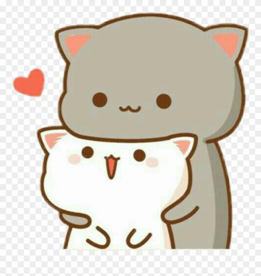 Kawaii Wallpaper Love Clipart Mochi Mochi Peach Cat 880x929 Download Hd Wallpaper Wallpapertip