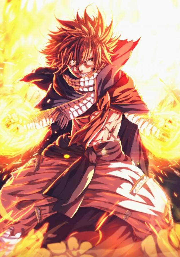 Anime Wallpapers For Phone Fairy Tail Natsu Art 629x896 Download Hd Wallpaper Wallpapertip