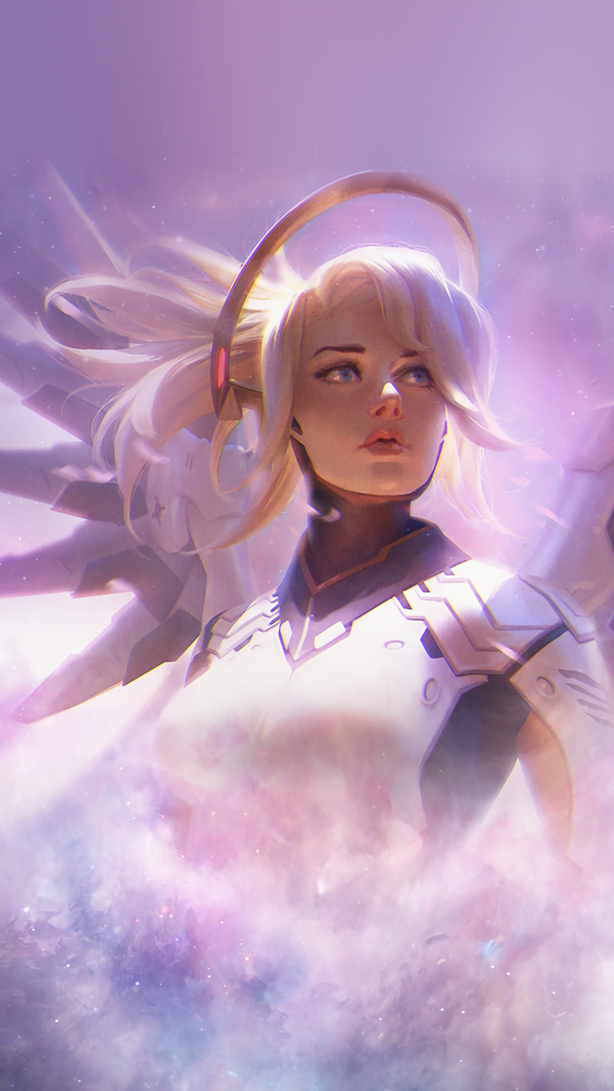 Mercy Overwatch Wallpaper Iphone 1242x2208 Download Hd Wallpaper Wallpapertip