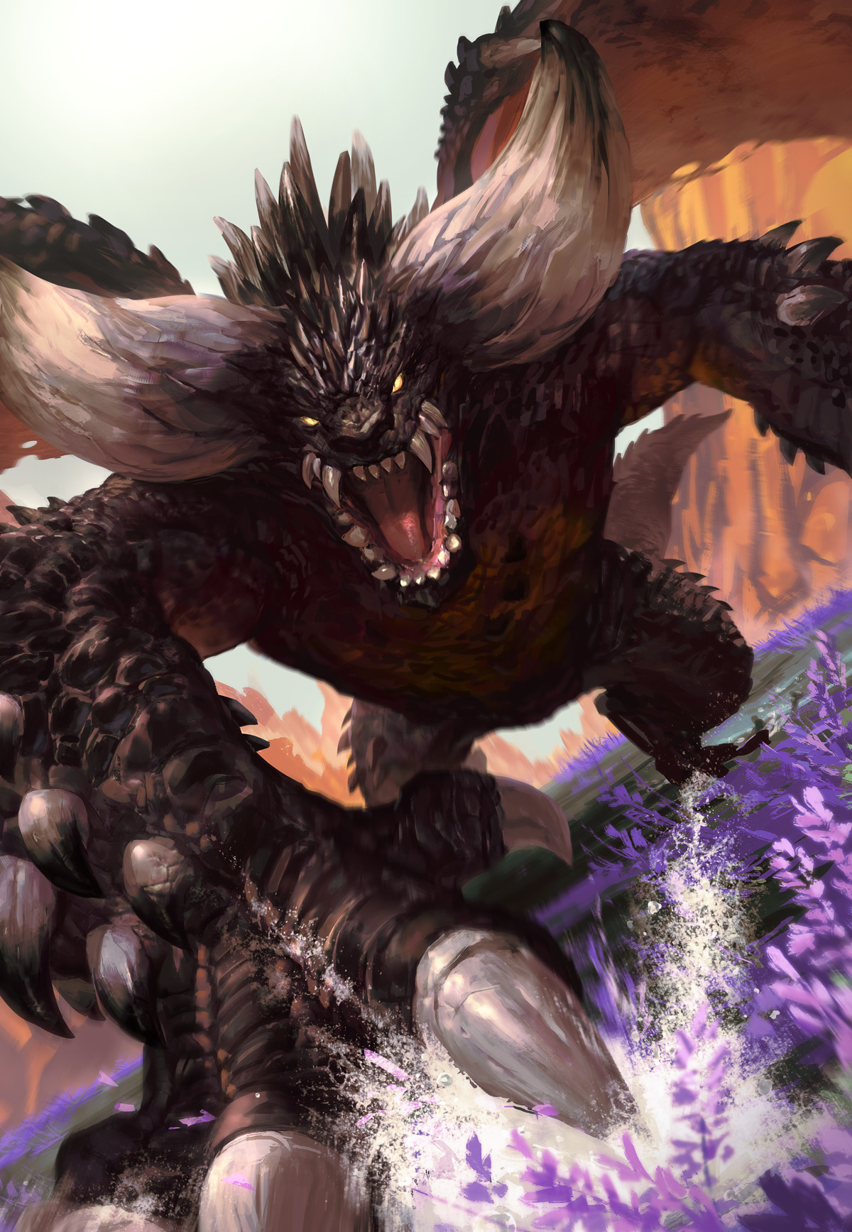 Monster Hunter World Nergigante Iphone 1200x1735 Download Hd