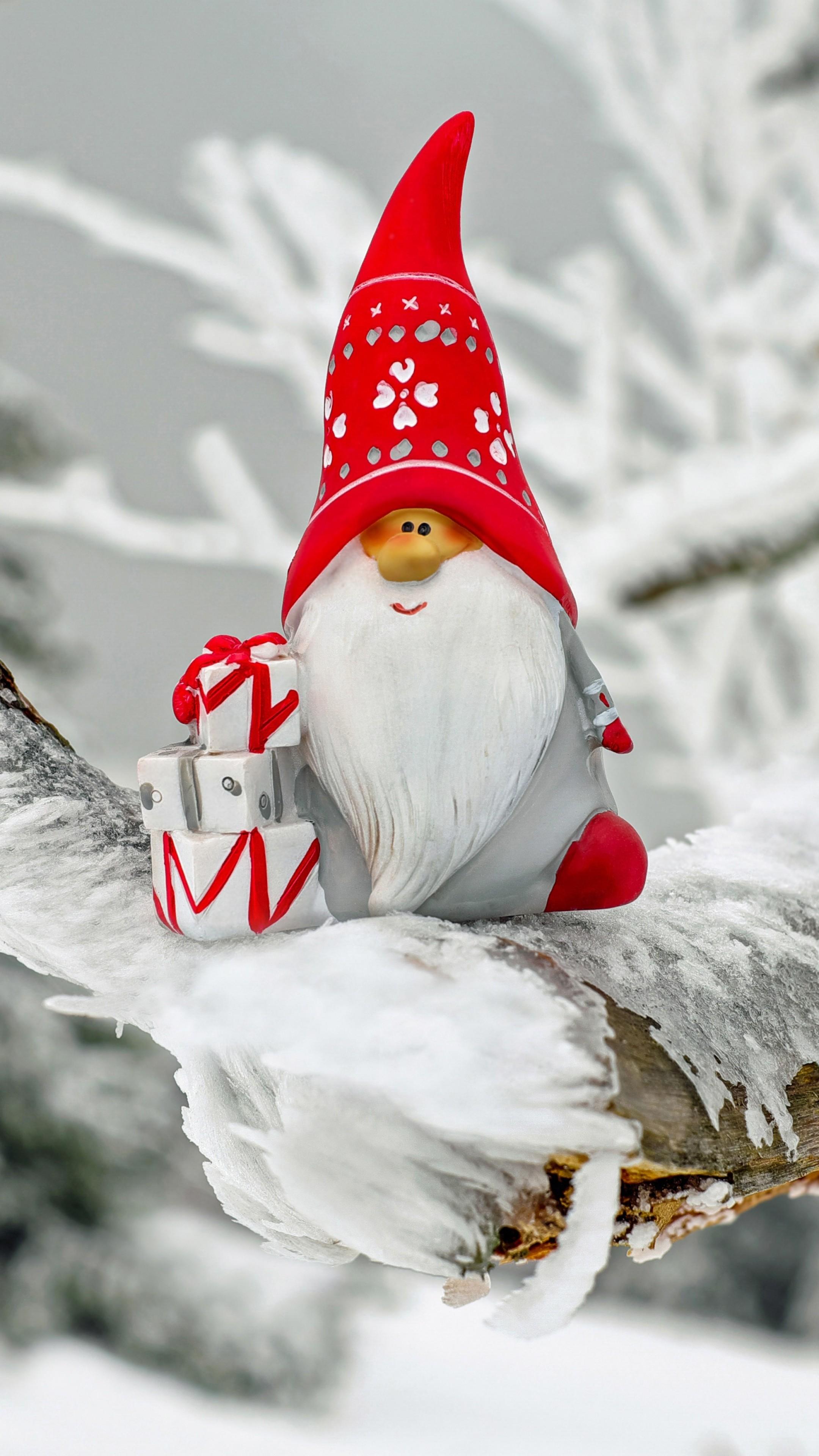 Sfondi Babbo Natale.Iphone Sfondo Di Babbo Natale Hd Carta Da Parati Gnomo 2160x3840 Wallpapertip