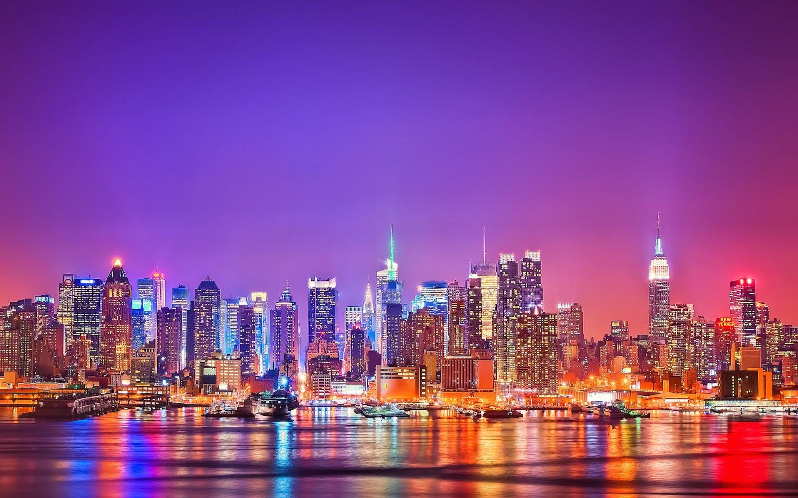 New York City 1600x1000 Download Hd Wallpaper Wallpapertip