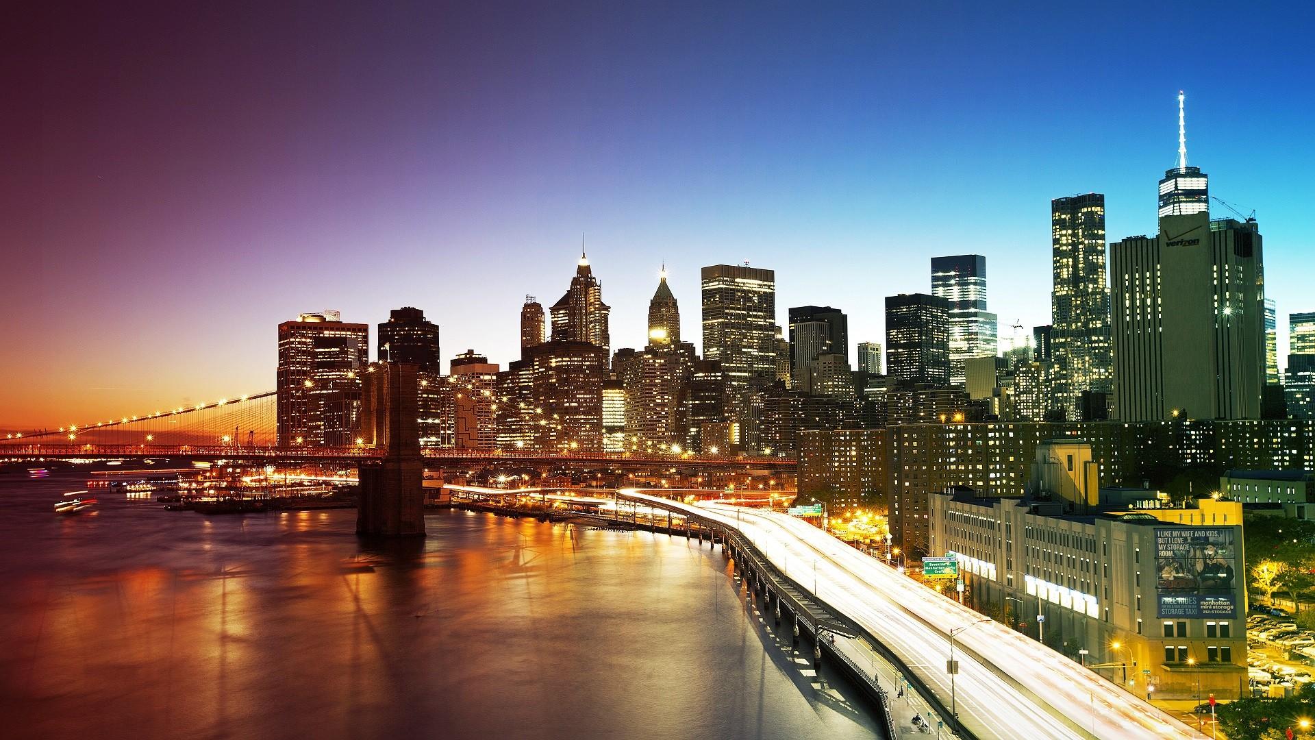 High Resolution New York City 1600x900 Download Hd Wallpaper Wallpapertip