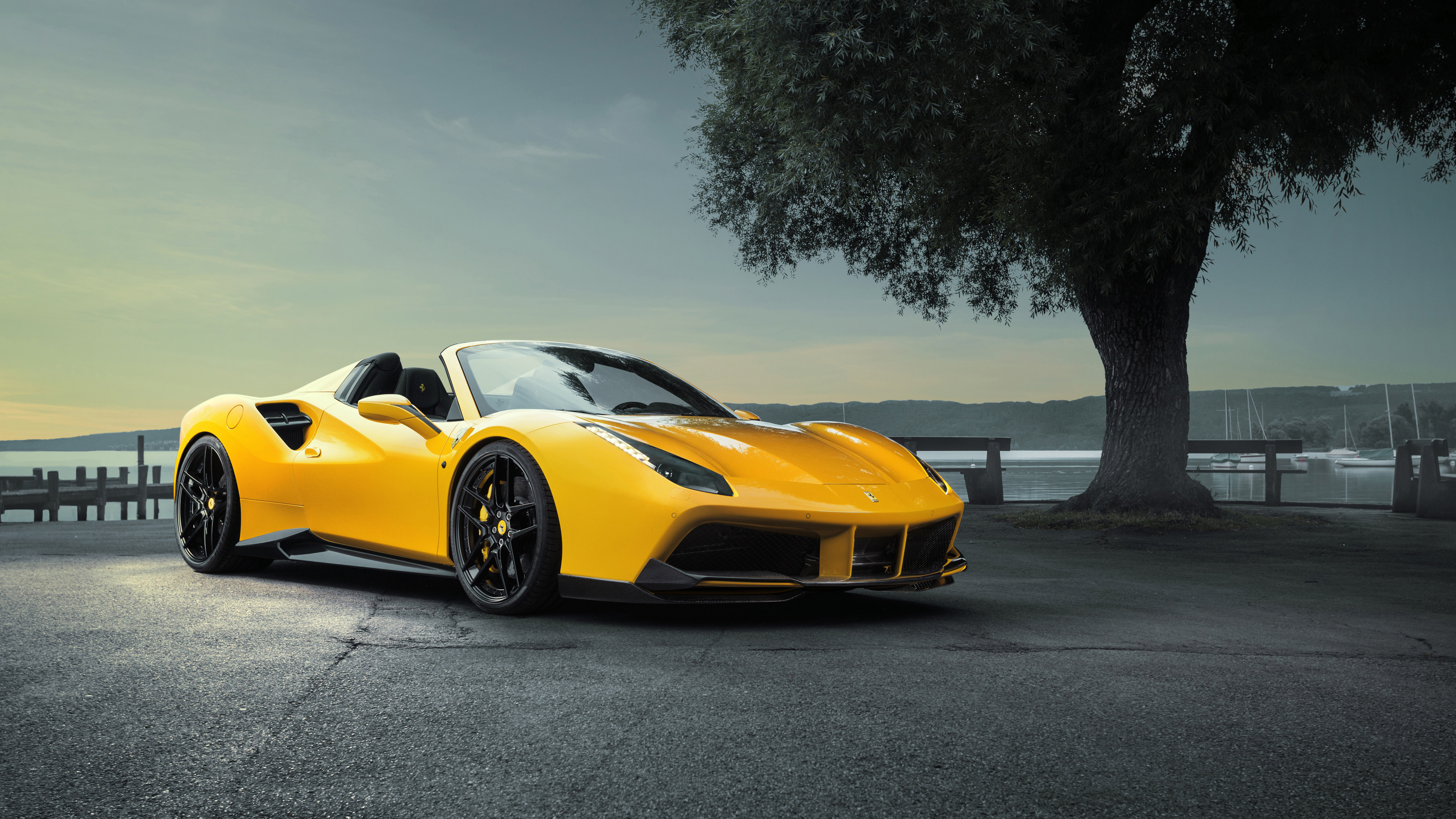Ferrari 488 Pista Spider 1920x1080 Download Hd Wallpaper Wallpapertip