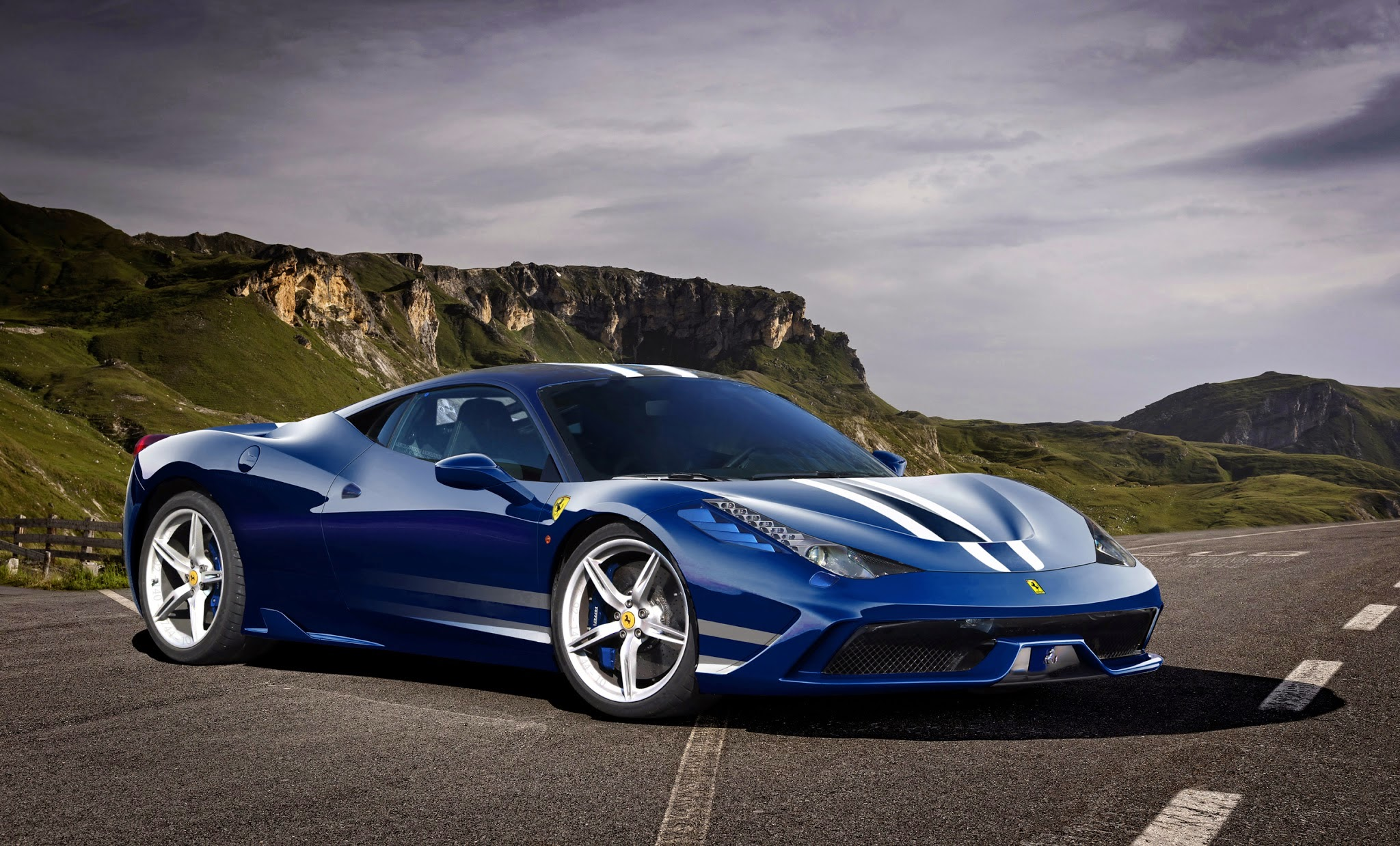Ferrari 458 Speciale 2013 Supercar Car Image Hd Download 2048x1239 Download Hd Wallpaper Wallpapertip