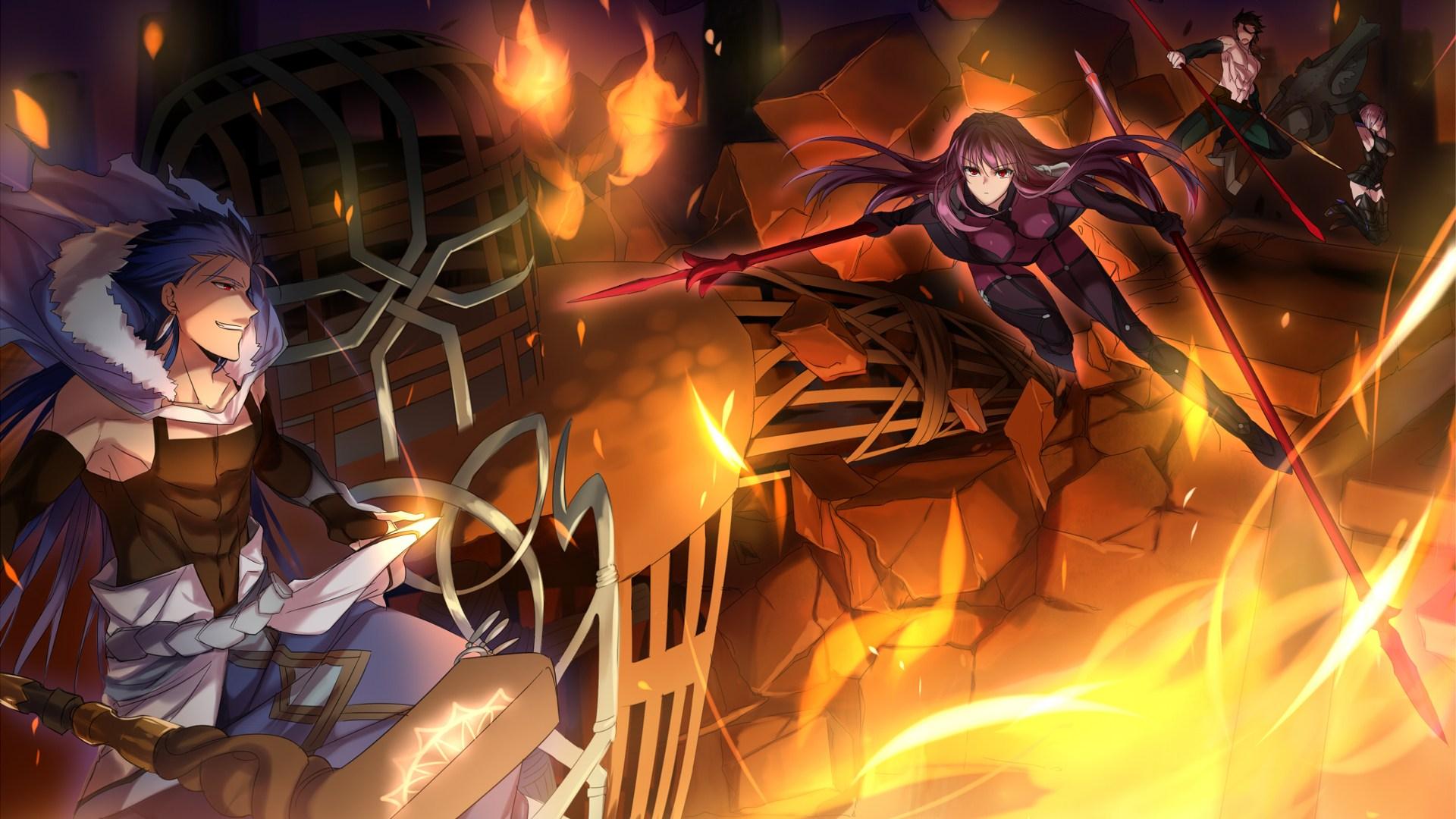Fate Stay Night Grand Order 運命グランドオーダー壁紙 19x1080 Wallpapertip