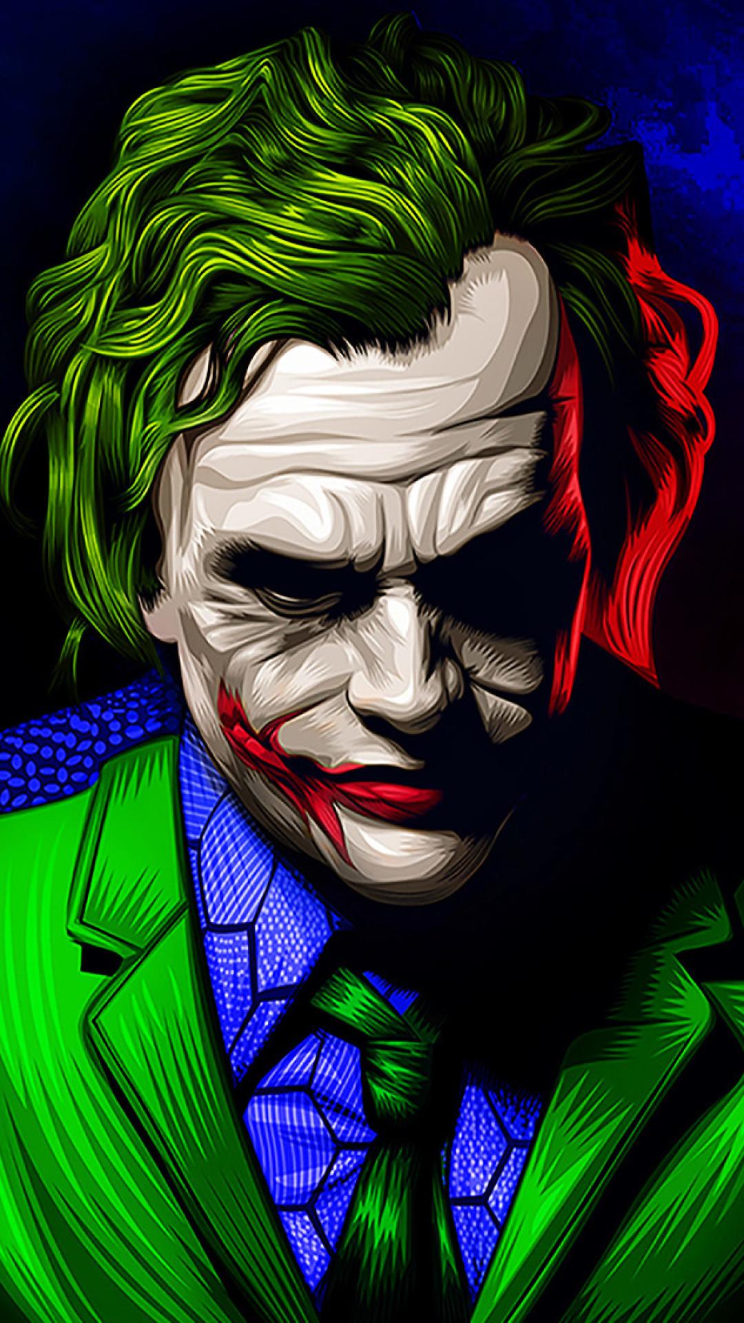 New Joker Wallpaper Ultra Hd Joker 4k 1080x1920 Download Hd Wallpaper Wallpapertip