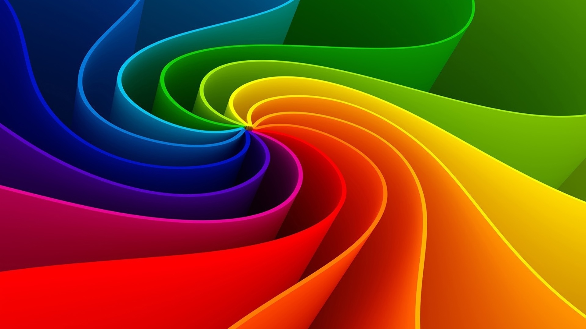 Amazing Colorful Abstract Rainbow 3d Hd S Wallpaper 3d Hd 1920x1080 Download Hd Wallpaper Wallpapertip
