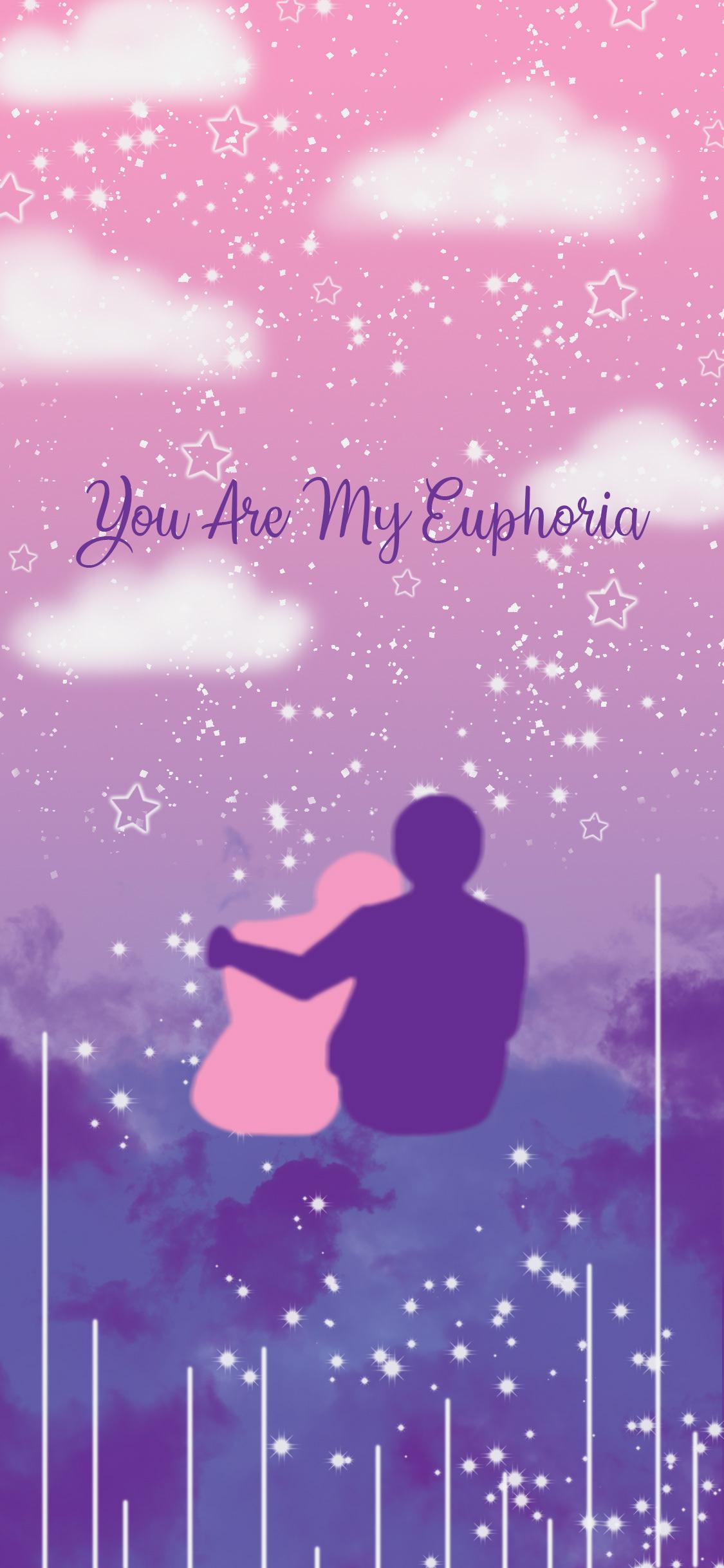 Bts Euphoria Purple 1125x2436 Download Hd Wallpaper Wallpapertip