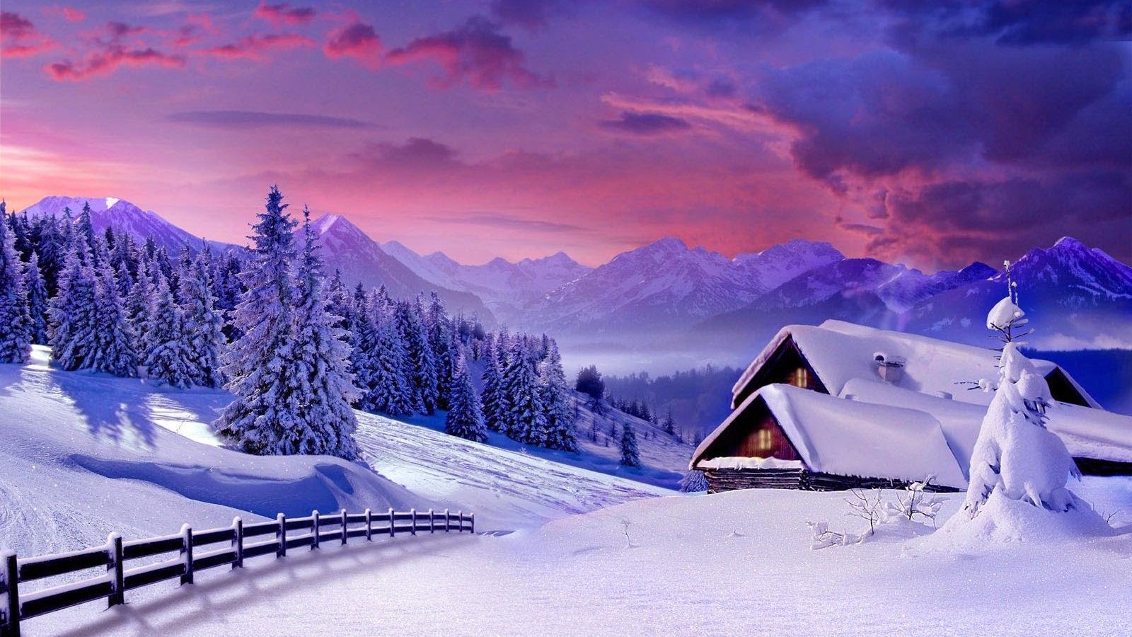 Beautiful Winter Scenery Wallpaper Wallpapers And Pictures Love Beautiful Wallpapers Nature Images Hd 1600x900 Download Hd Wallpaper Wallpapertip