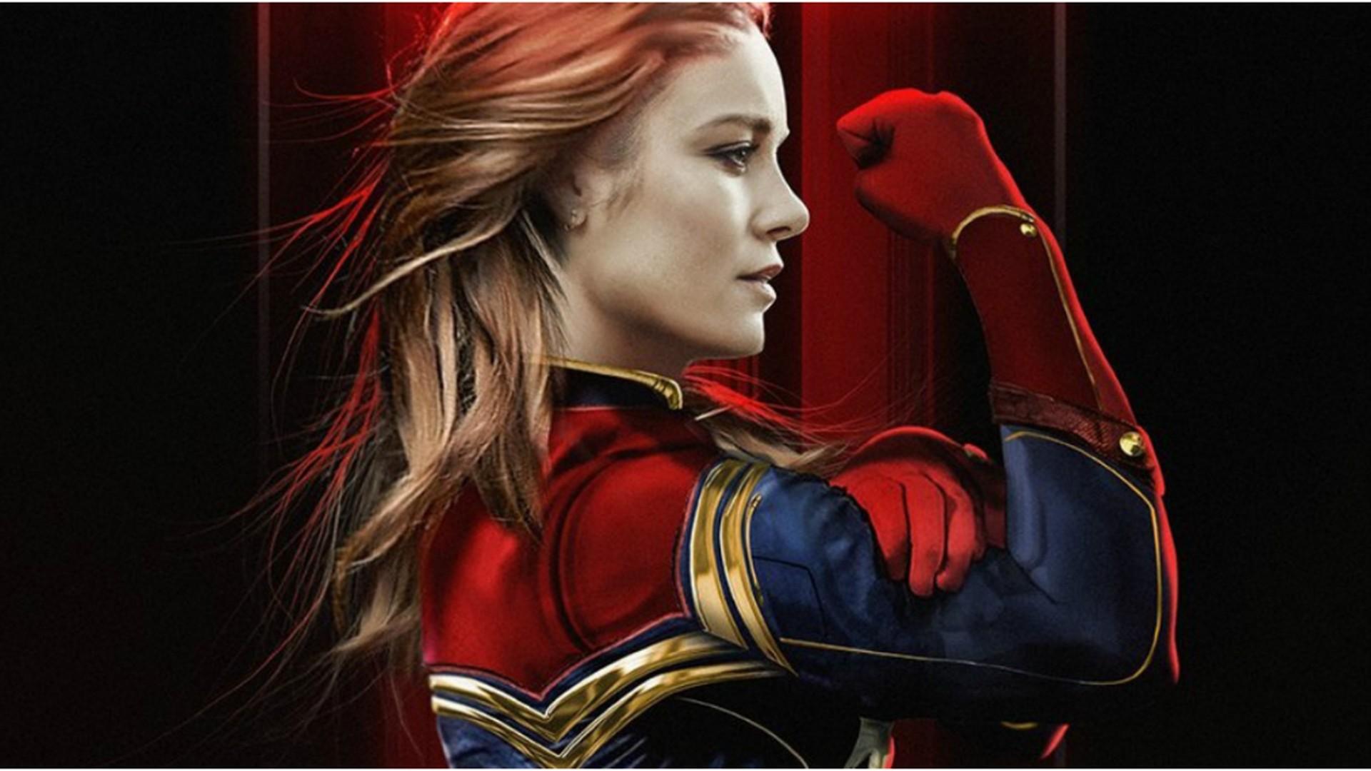 Captain Marvel 2019 Movie Wallpaper With High Resolution 4k Captain Marvel Backgrounds 1920x1080 Download Hd Wallpaper Wallpapertip