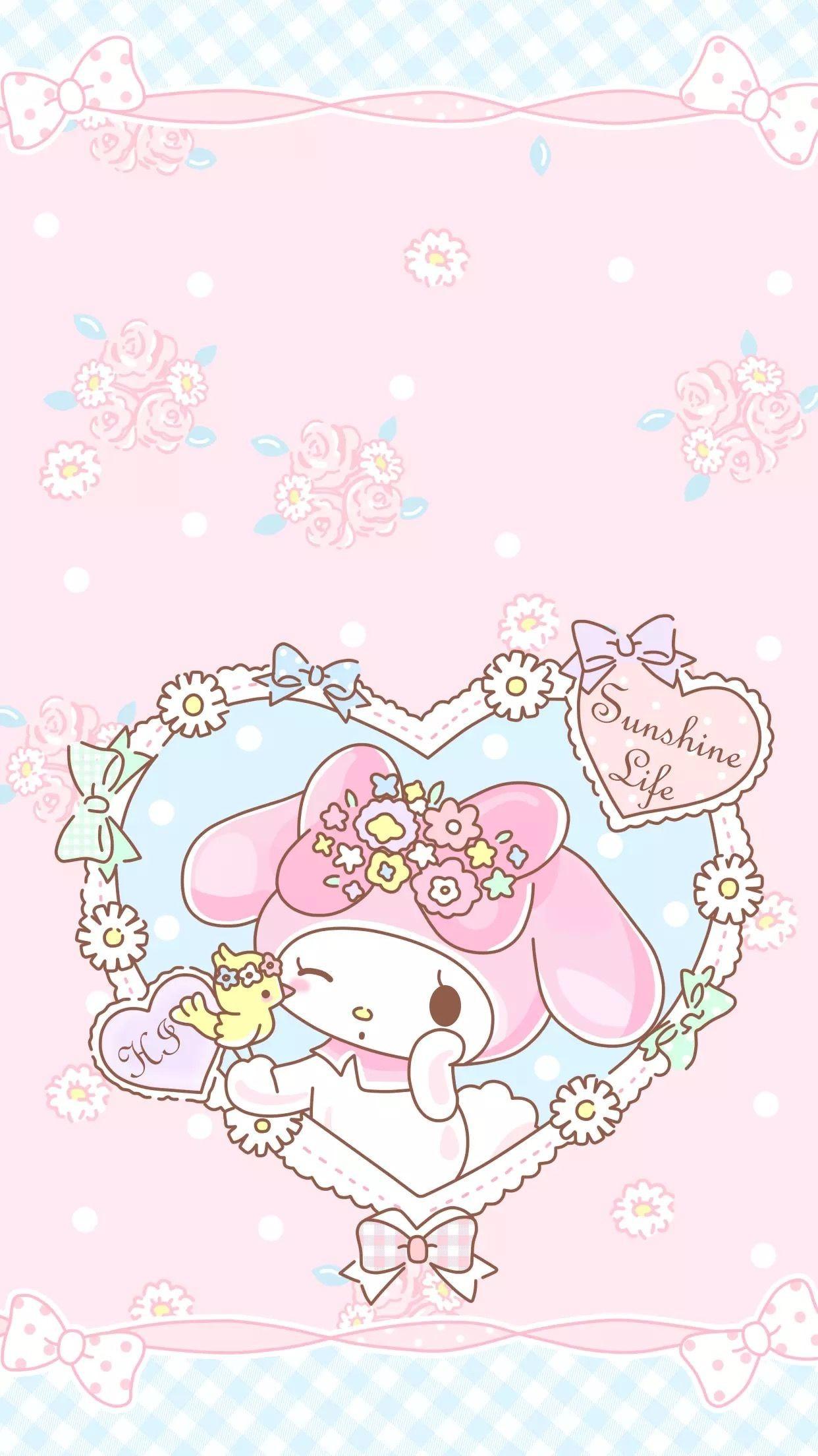 104 1046433 1242x2208 sanrio wallpaper my melody wallpaper kawaii my