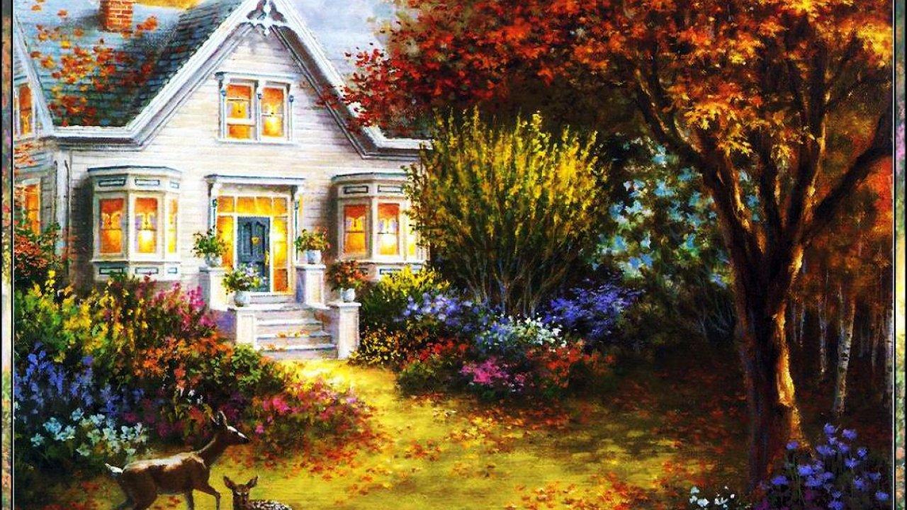 Desktop Backgrounds Hd Paintings 1280x720 Download Hd Wallpaper Wallpapertip