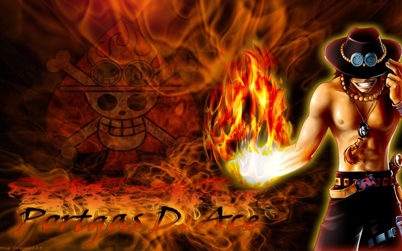 Ace Wallpaper One Piece 1280x800 Download Hd Wallpaper Wallpapertip