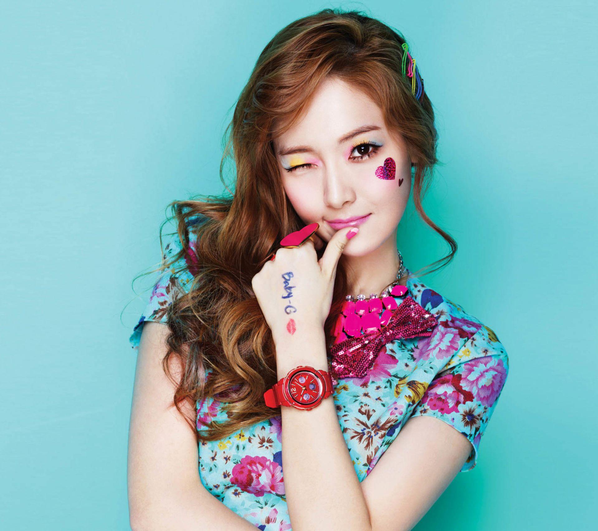 Koreanisches Mädchen Heißes schönes Sexy Mädchen