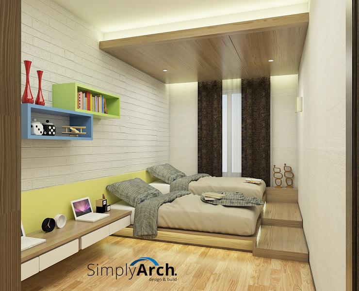 Kamar Tidur Minimalis Oleh Simply Arch Desain Kamar Tidur Panggung 740x601 Download Hd Wallpaper Wallpapertip
