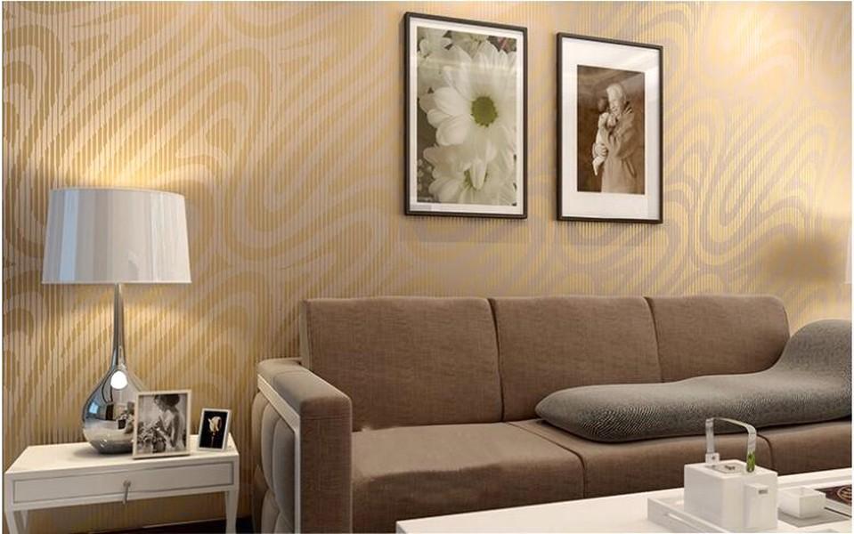 11 117214 elegan ide desain wallpaper dinding ruang tamu minimalis