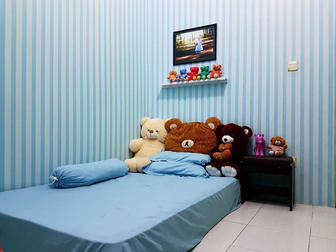 Desain Kamar Tidur Sederhana Warna Biru Papier Peint Kamar Anak 1080x810 Wallpapertip