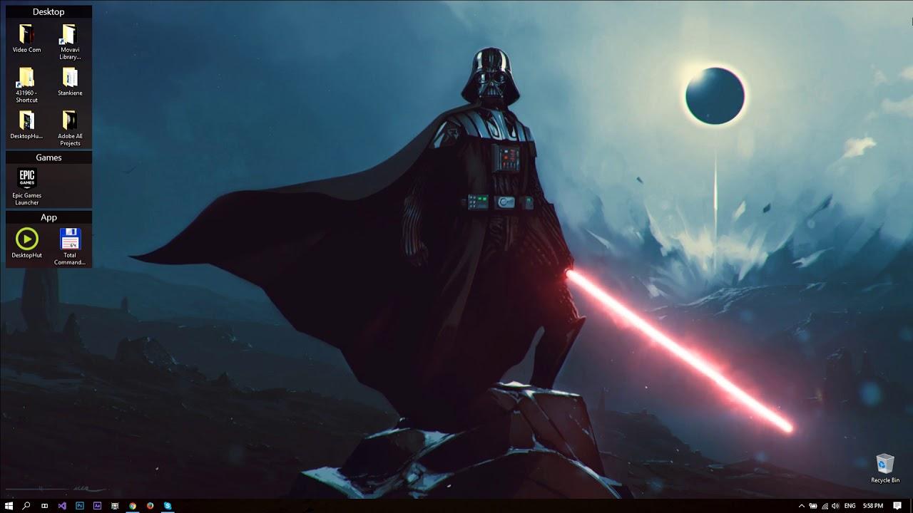 Darth Vader Wallpaper 4k 1280x720 Download Hd Wallpaper Wallpapertip