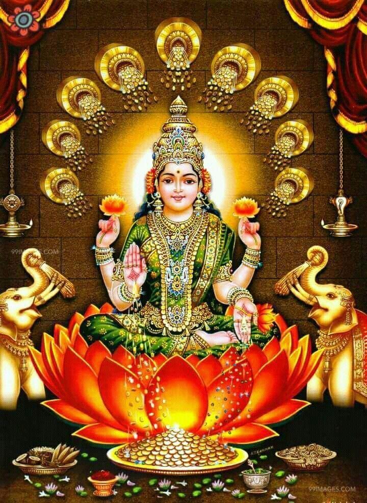 Lakshmi Devi Images Hd Gottin Lakshmi Tapeten 720x986 Wallpapertip